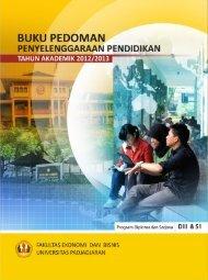 Buku Pedoman Fakultas Ekonomi & Bisnis - Universitas Padjadjaran