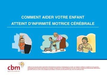 comment aider votre enfant atteint d'infirmité motrice cérébrale - CBM