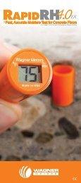 Rapid RH Brochure - Wagner Meters