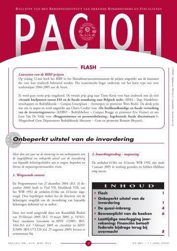 Editie nr 210 | 29 mei - 11 juni 2006 - BIBF