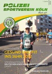 Gesund und Fit ins Jahr 2012 - Polizei Sport Verein Koeln 1922