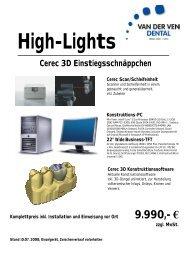 Sirona Cerec 3D Einsteigerschnäppchen - Zahninfo.net
