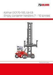 Kalmar DCF70-100, E4-E8 Empty container ... - Lectura SPECS