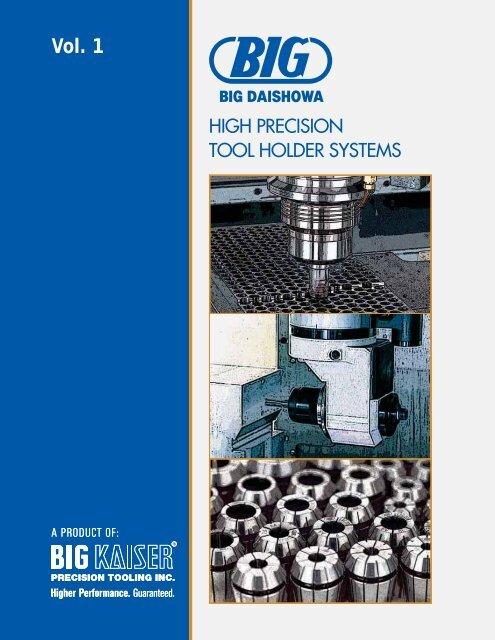 BIG DAISHOWA BT 40 TAPER COLLET CHUCK cnc milling tool holder BT40-NBS20-60