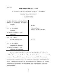 the full text of the court's decision. - Oakland City Attorney