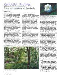 Mt. Cuba Center - Trillium & Hexastylis - American Public Gardens ...