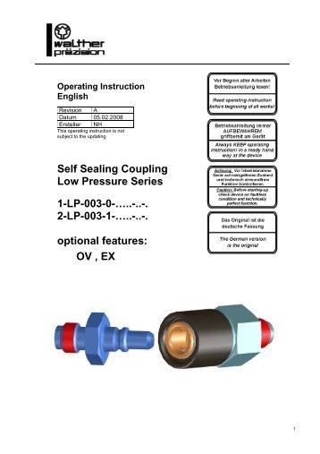 2-LP-003-1 - Carl Kurt Walther GmbH & Co. KG