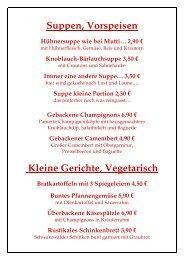 3,20 - Gasthaus Paesch