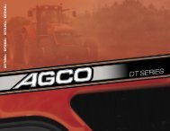 DT180 DT200 DT220 DT240 - AGCO Iron