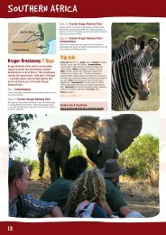 southern africa - Peregrine Adventures
