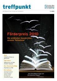Treffpunkt 02/2010 - Schule-des-schreibens