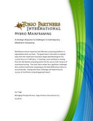 Hybrid Mainframing - CA Technologies