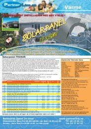 SOLARPANEL SOLARPANEL SOLARPANEL - Partnerline AS