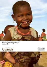 Country Strategy Paper - Embassy of Ireland in Uganda
