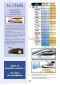 Le choix d'un bec (clarinette) (738k) - vandoren - Page 7