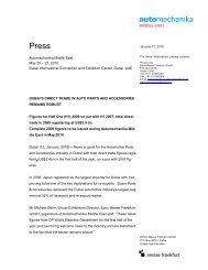 AM 2010 Dubai's Direct Trade in Auto Parts and Accessories