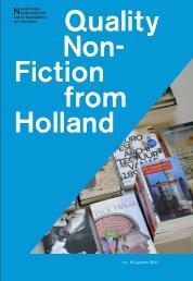 Nederlands letterenfonds dutch foundation for literature no. 16 ...