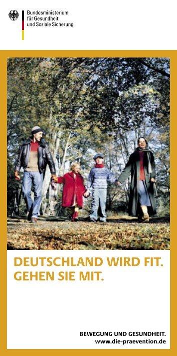 DEUTSCHLAND WIRD FIT. GEHEN SIE MIT. - Kasper & Richter