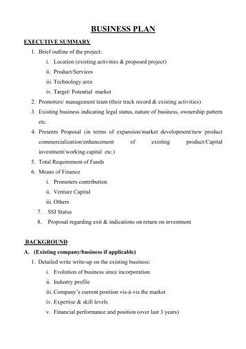 Submit business plan