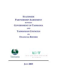 Financial Reform Agreement - Local Government Association of ...