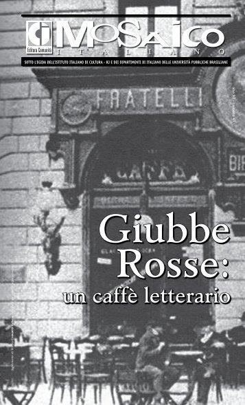 un caffè letterario - Comunità Italiana