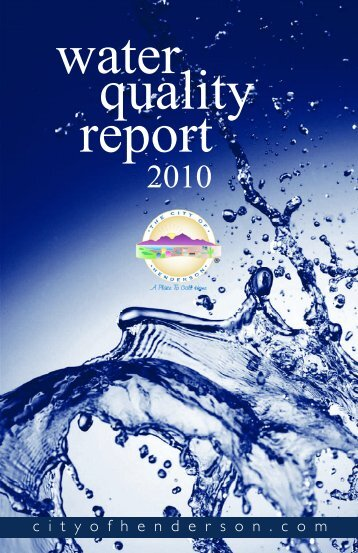 Henderson NV water report