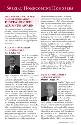 alumni director's award - Norwich University
