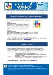 talleres de conversaciones de idiomas en verano becas fullbright n ...