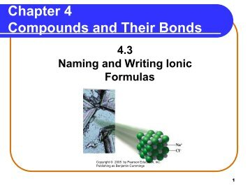 Ionic Formulas and Naming PowerPoint