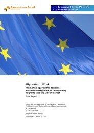 Migrants to Work - Raad voor Werk en Inkomen
