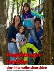 Informationsbroschüre zu Regenbogenfamilien - Stadt Zürich