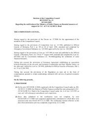 1 Decision of the Competition Council DECISION No. 19 Of 10.02 ...