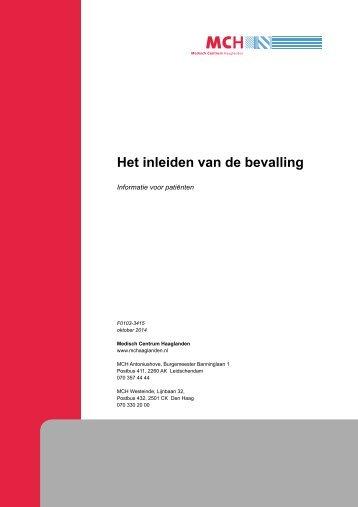 Het inleiden van de bevalling - Medisch Centrum Haaglanden