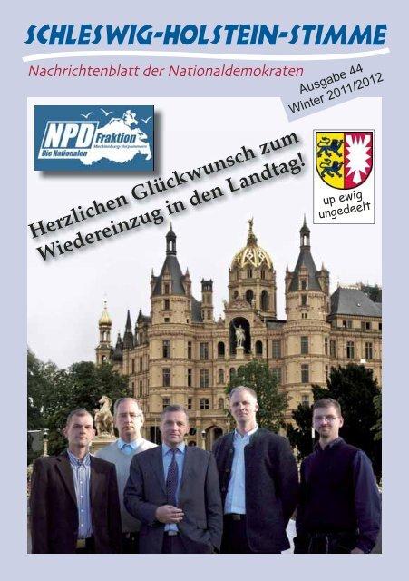 Herzlichen Glückwunsch zum Wiedereinzug in den Landtag!