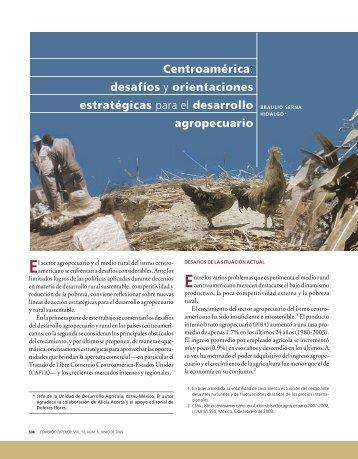 desafíos y orientaciones estratégicas para el desarrollo agropecuario