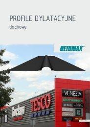 5.85 MB pobierz Profile dylatacyjne dachowe - Betomax Polska SA