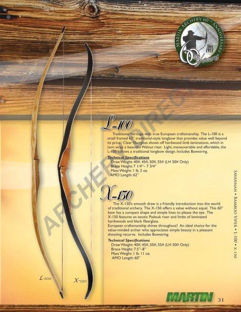 Bamboo Longbows