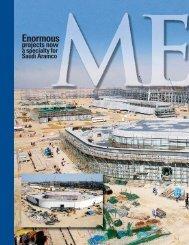Mega projects Saudi Aramco's specialty