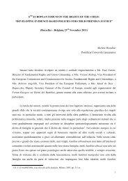 forum-on-the-rights - Pontificia Università Lateranense