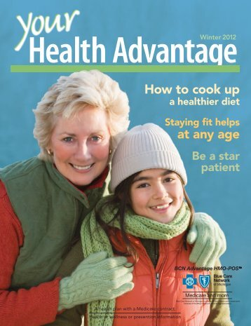 Your Health Advantage - Winter 2012 - Blue Care Network