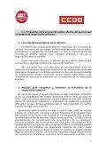 Propuesta Sindical Unitaria para la Reforma de la ... - CCOO - Page 5
