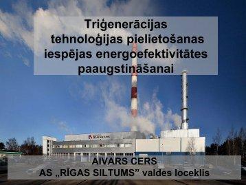 Triģenerācijas tehnoloģijas pielietošanas iespējas ...