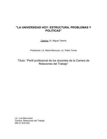 En, Universidad hoy - Carrera de Relaciones del Trabajo-facultad ...