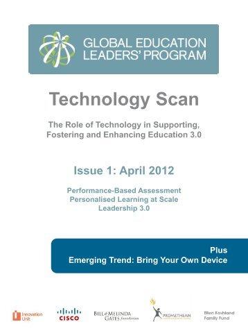 Technology Scan - Global Education Leaders' Program