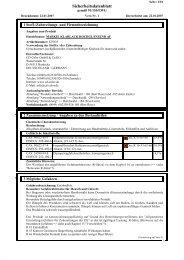 M1 Klarlack hochglänzend - Sicherheitsdatenblatt - CD-Color GmbH ...