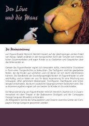 weitere Infos (PDF) - Figurentheater Heinrich Heimlich