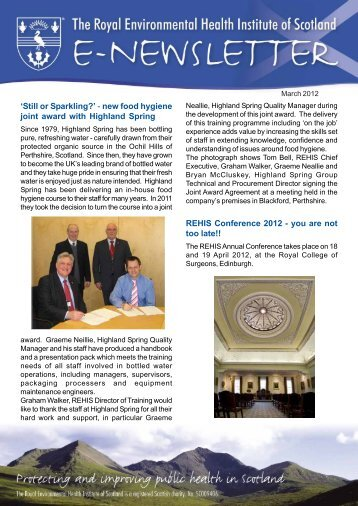 Download march_2012_newsletter.pdf - The Royal Environmental ...