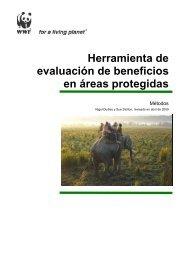 Herramienta de evaluación de beneficios en áreas protegidas