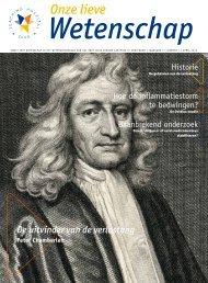 Onze Lieve Wetenschap april 2012 - Olvg