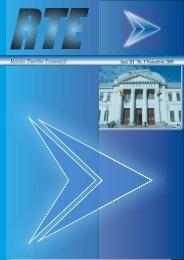 Revista Tinerilor Economişti - Universitatea din Craiova